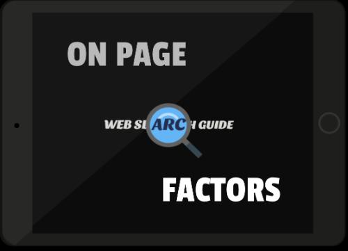 onpage seo factors